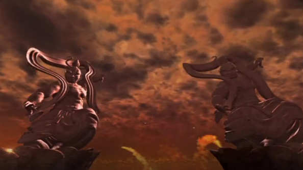 【押忍!番長3】サラリーマン番長・仁王門に突入すればATの大チャンス!頂RUSH契機と仁王門